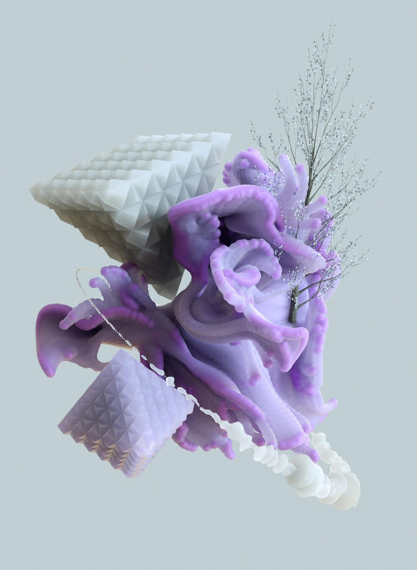 C4D单帧场景样张参考-2-柠檬CG视觉